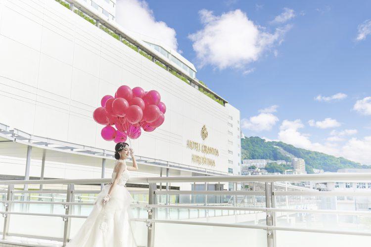 駅直結!ガーデン付!ホテルグランヴィア広島で結婚式をしよう